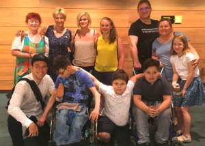 A Holnap Iskolája inkluzív nyári táborának résztvevői